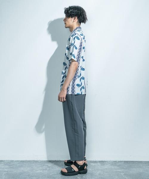 LiSS(リス)の「【LiSS】オープンカラーシャツ/アロハ 開襟シャツ(シャツ/ブラウス)」|詳細画像