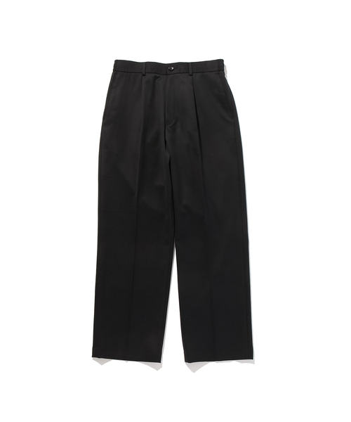 FALL2019 WIDE TAPERED PANTS