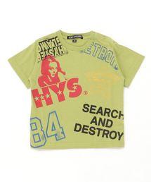 HYS SCRATCH Tシャツ【XS/S/M】グリーン