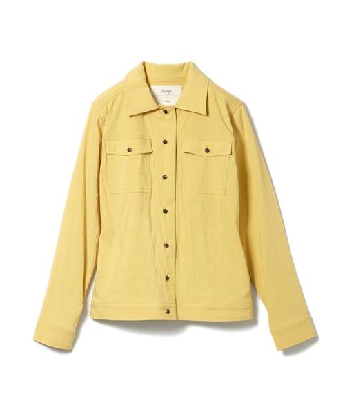 【安田美沙子×DRWCYS】コンパクトミリタリーシャツ
