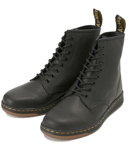 Dr.Martens(ドクターマーチン)の「Dr.Martens ドクターマーチン NEWTON 8 EYE BOOT BLACK(ブーツ)」|ブラック