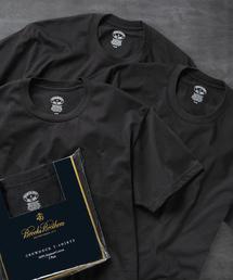 BROOKS BROTHERS(ブルックス ブラザーズ)のスーピマコットン 3パック ベーシック クルーネック Tシャツ(その他アンダーウェア/インナー)
