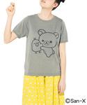 コリラックマ&キイロイトリ 仲良しニットTシャツ(Tシャツ/カットソー)