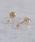NOIR DE POUPEE(ノワールドプーペ)の「K10 一粒ダイヤモンド(0.06ct) スタッドピアス(ピアス(両耳用))」|クリア