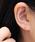 NOIR DE POUPEE(ノワールドプーペ)の「K10 一粒ダイヤモンド(0.06ct) スタッドピアス(ピアス(両耳用))」|詳細画像