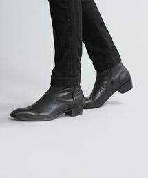 5351 POUR LES HOMMES(ゴーサンゴーイチプールオム)の【大人の1足】ゴートベジサイドゴアブーツ(ブーツ)