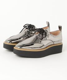 CREPE SOLES DERBY シューズシルバー