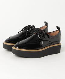 CREPE SOLES DERBY シューズブラック