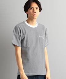 【WEB限定】[ダントン] SC★★DANTON ロゴ ポケット Tシャツ †
