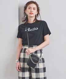<MADISON BLUE(マディソンブルー)>HELLO ロゴ Tシャツ ■■■