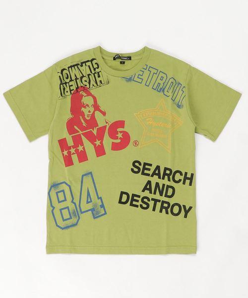 HYS SCRATCH Tシャツ【L】