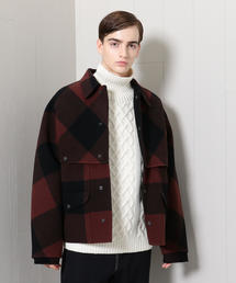 <H>BUFFALO CHECK MACKINAW JACKET/ジャケット