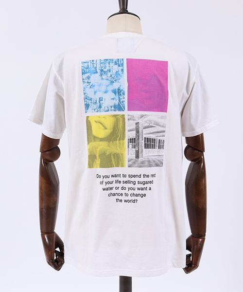 mt5582-Back Photo Print Big Tee(MADE IN JAPAN) Tシャツ
