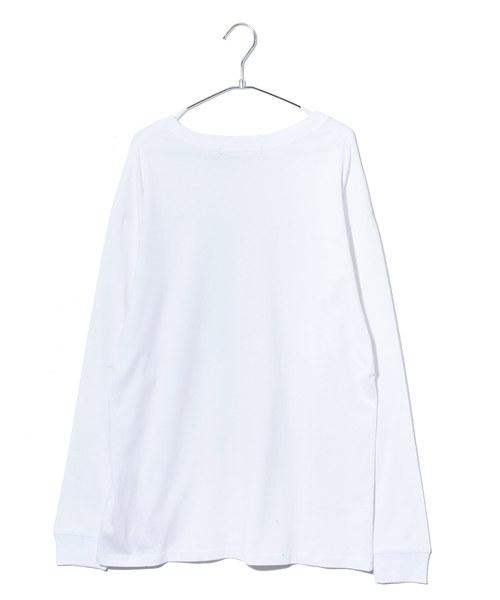 Irina プリント長袖Tシャツ