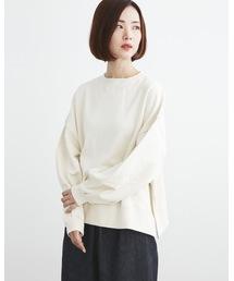 Traditional Weatherwear(トラディショナルウェザーウェア)の【ZOZOTOWN限定】BIG CREW SLIT(スウェット)