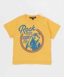 ROCK SOCIETY Tシャツ【XS/S/M】イエロー