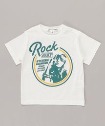 ROCK SOCIETY Tシャツ【XS/S/M】アイボリー