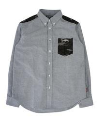 DOUBLE STEAL(ダブルスティール)のパーツ迷彩ボタンダウンシャツ(シャツ/ブラウス)