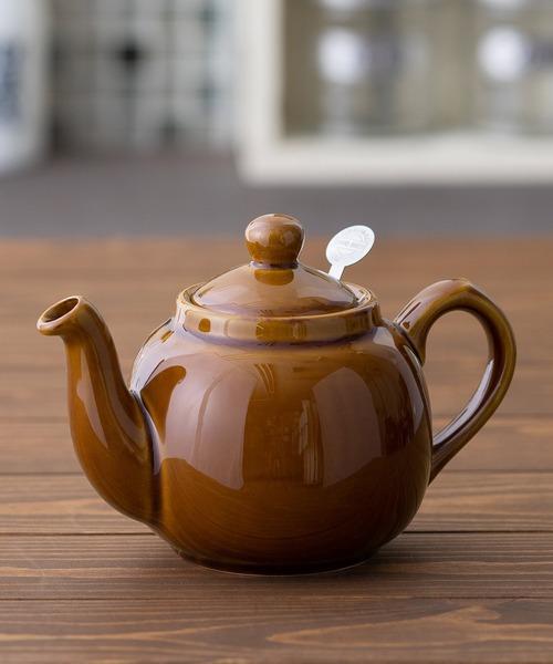 London Pottery(ロンドンポッタリー)の「ティーポット 2Cup(食器)」|ブラウン
