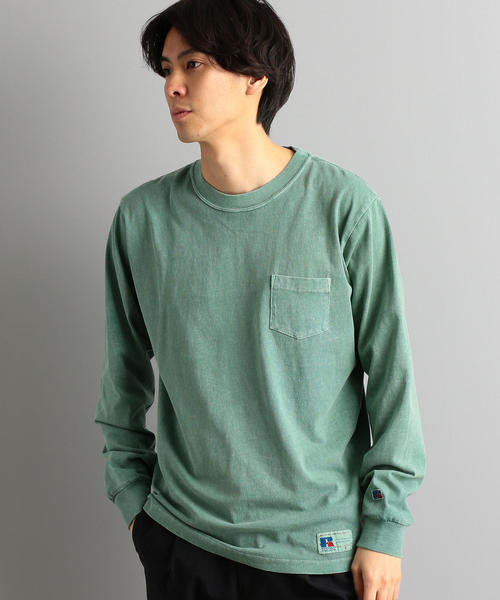 【WEB限定】[ラッセルアスレチック]SC★★RUSSELL ポケットTシャツ / カットソー †
