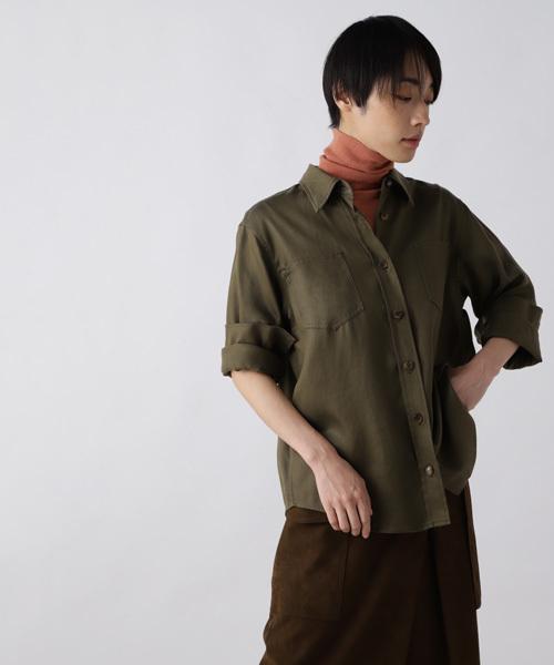 【超歓迎】 リヨセルチノシャツ(シャツ/ブラウス)|H/standard(アッシュ・スタンダード)のファッション通販, LUCA:d091b529 --- fahrservice-fischer.de