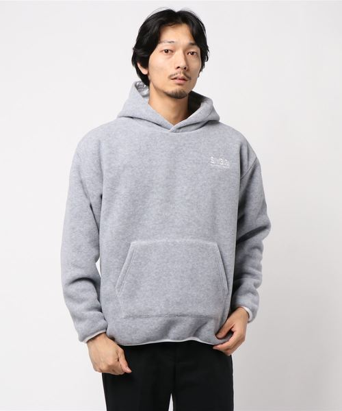 SY32 by SWEET YEARS(エスワイサーティトゥバイスィートイヤーズ)の「【73】【SY32 by SWEET YEARS】POLARTEC REVERSIBLE HOODIE(パーカー)」|グレー