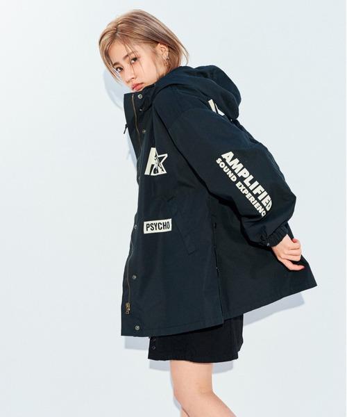 STAR WOMANライナー付フーデッドジャケット