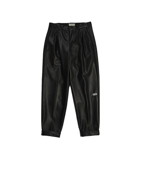 <JieDa> FAKE LTR 2TUCK TAPERED PANTS/パンツ