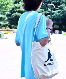 KANGOL(カンゴール)の<KANGOL>2WAY キャンバス ショルダーバッグ(ショルダーバッグ)