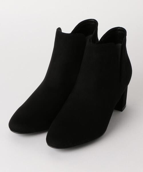★KFC カクシゴア ショートブーツ(5.5cmヒール)
