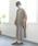 SESTO(セスト)の「スクエアトゥフラットシューズVカットバブーシュパンプス※※※(パンプス)」|詳細画像
