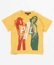 DM/JOHN LYDON W BIG YOUTH Tシャツ【XS/S/M】イエロー