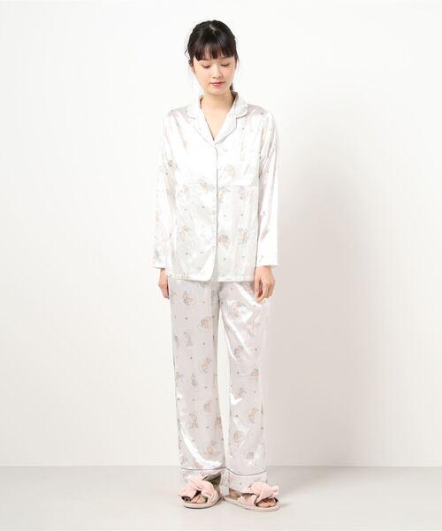 ベアーサテンパジャマ