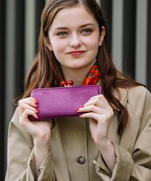 754a2abe9060 レディースの財布(パープル/紫色系・長財布)ファッション通販 - ZOZOTOWN