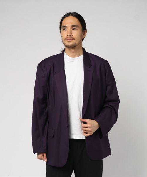 世界の T/R BIG BIG JACKET(テーラードジャケット)|GDC(ジーディーシー)のファッション通販, アカムス:e17531f1 --- skoda-tmn.ru