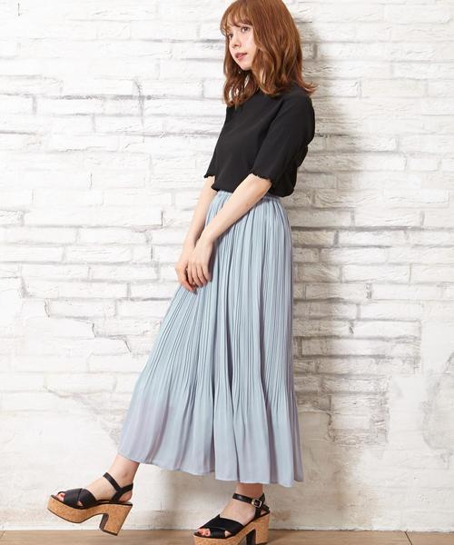 【4/9ヒルナンデスご紹介商品】JZプリーツ/スカート