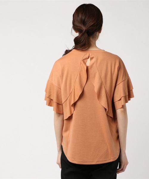 ポンチフリルTシャツ