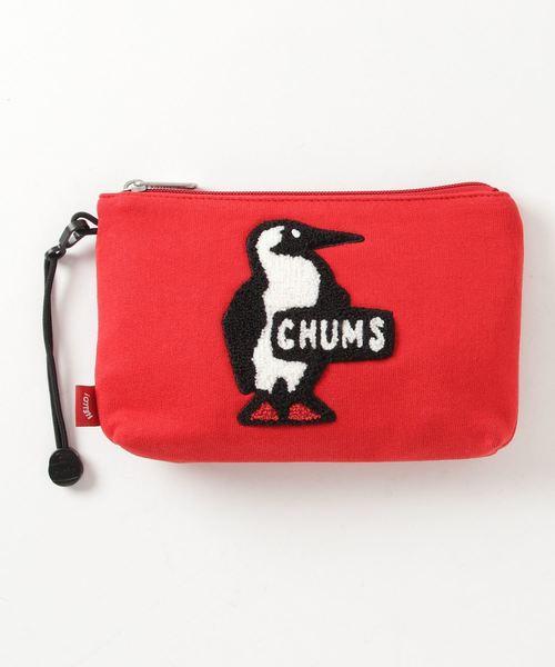 CHUMS(チャムス)の「Medium Pouch Sweat(ポーチ)」|レッド