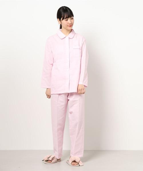 肌あたりがやさしい素材感のパジャマ