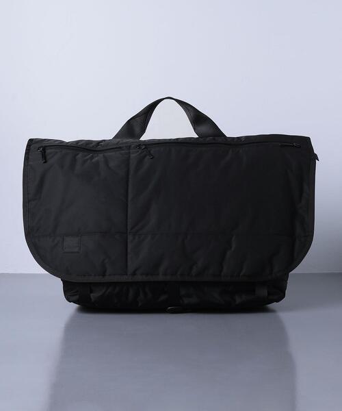 <RAMIDUS(ラミダス)> MESSENGER BAG XL BLACK BEAUTY BY FRAGMENT DESIGNB(B017003)■■■