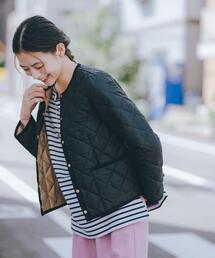 【別注】<Traditional Weatherwear > ARKLEY ショート コート キルティング