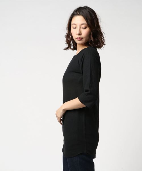 JE MORGAN/JEモーガン 7分袖 LONG TEE