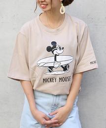 Disney(ディズニー)のDisney(ディズニー) サーフミッキーTシャツ(Tシャツ/カットソー)