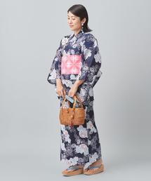 【WEB限定】<KAGUWA>菊 浴衣