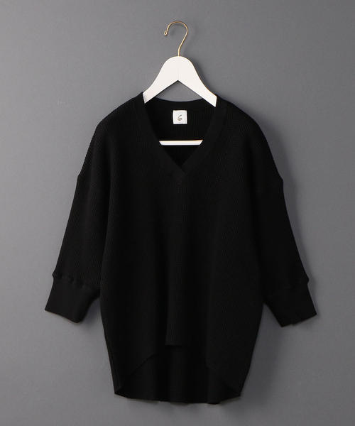 <6(ROKU)>THERMAL V NECK 6SLEEVE 3/サーマル
