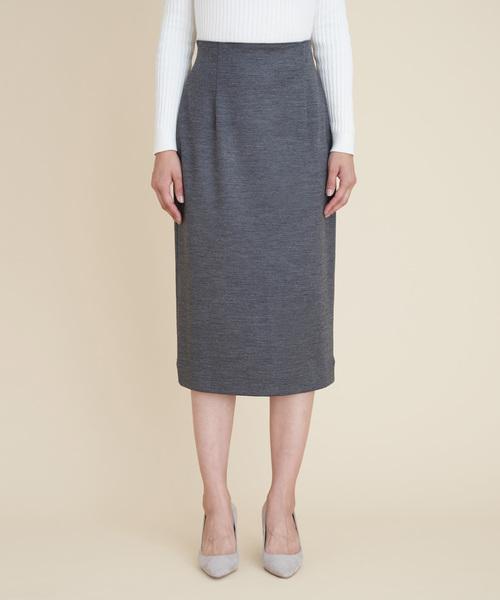 MARIEBELLE JEAN(マリベルジーン)の「MARIEBELLE JEAN タイトスカート /33183018(スカート)」 グレー