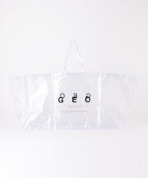 <GEO> CLEAR TOTE BAG/トートバッグ ◆