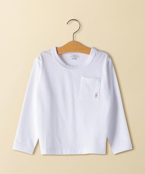 gロゴポケットロングスリーブTシャツ