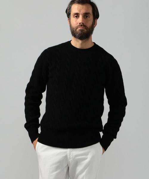 上等な スーパーファインラムウール TOMORROWLAND ケーブルクルーネックニット(ニット/セーター)|TOMORROWLAND(トゥモローランド)のファッション通販, 五代目 池庄:b9d167d0 --- svarogday.com