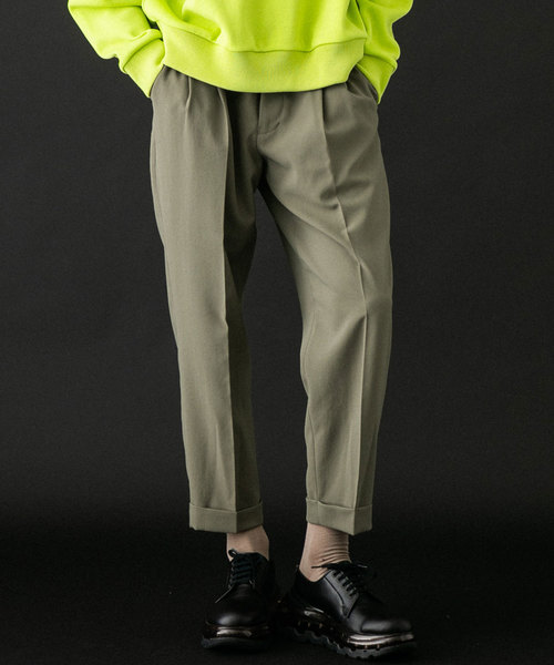 品質が TOKYO UNITEDアンクルバルキートラウザーズ(スラックス)|UNITED TOKYO(ユナイテッドトウキョウ)のファッション通販, アイオイチョウ:f4357d3d --- tsuburaya.azurewebsites.net